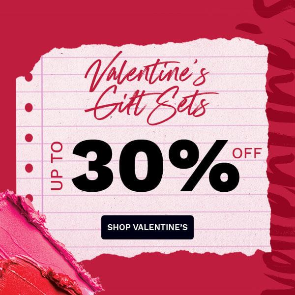 Εξοικονομήστε έως και 30% στα Valentine's Day gift sets
