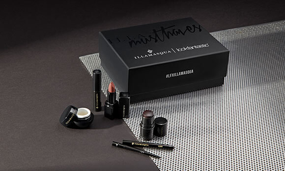 Illamasqua X Lookfantastic beauty box
