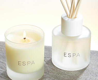 ESPA Candles, Diffusers & Home Fragrance