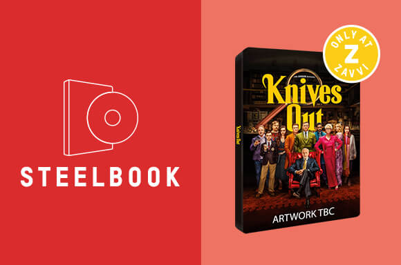 KNIVES OUT<br>4K UHD STEELBOOK