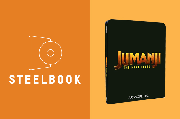 JUMANJI: THE NEXT LEVEL <BR> 4K UHD STEELBOOK
