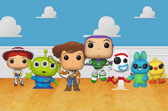 TOY STORY POP! VINYL FIGURES