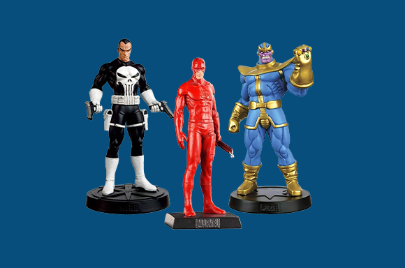 5 Action Figures For £30!