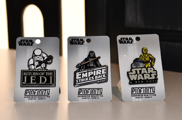 STAR WARS AR PIN BADGE COLLECTABLES