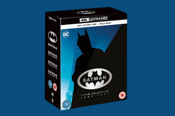 BOX SET 4K BATMAN (1989 - 1997)
