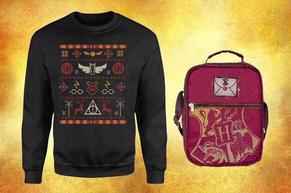 Harry Potter Sweatshirt Backpack