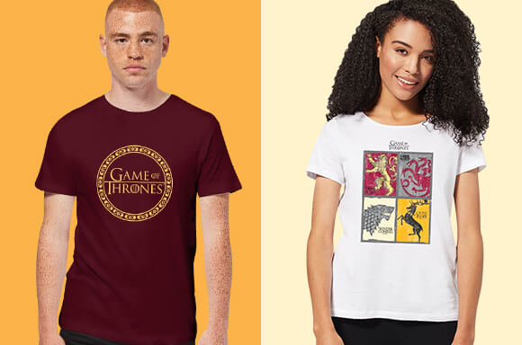 GAME OF THRONES T-SHIRTS JE 10,99€