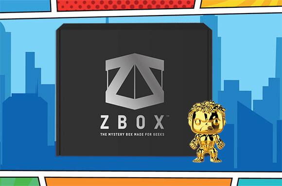 EXKLUSIVE COMIC CON MYSTERY BOX