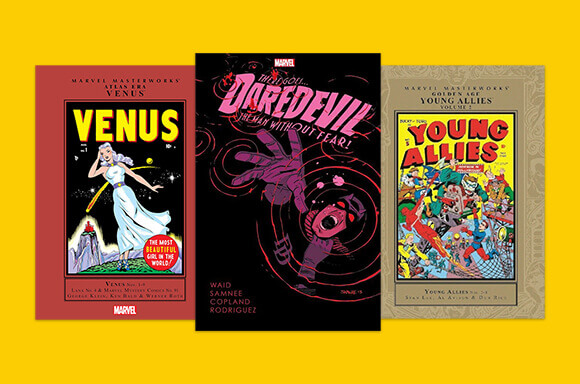 MARVEL BOOK PRICE DROP<br>SAVE UP TO 75% OFF RRP