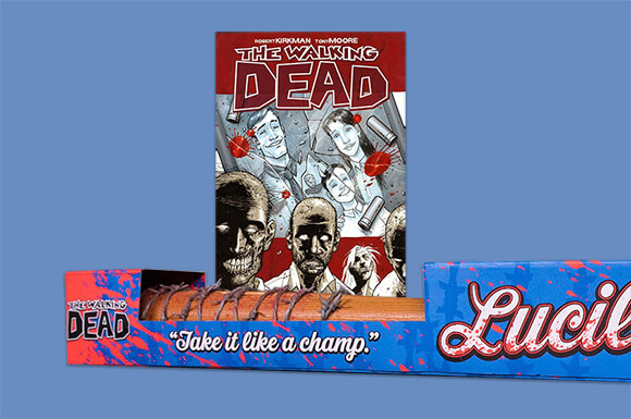 THE WALKING DEAL REPLICA BAT & GRAPHIC NOVEL FOR ONLY £24.99!