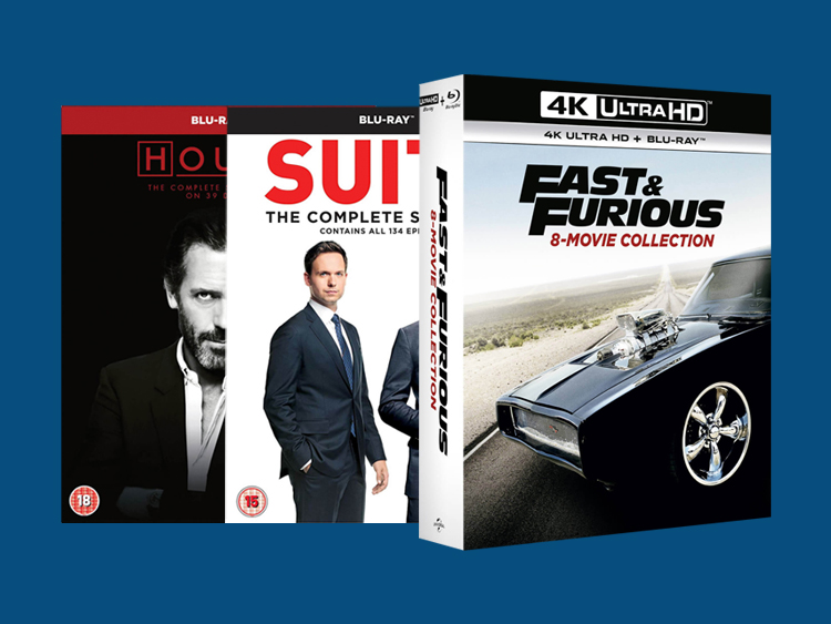 Blu-ray, 4K UHD & DVD Price Crash