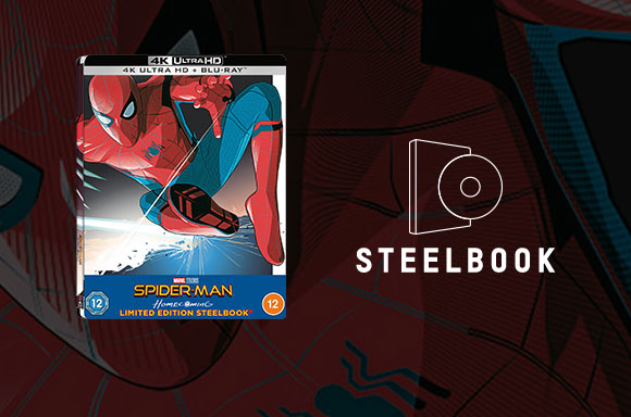 Spider-Man Homecoming Steelbook x2
