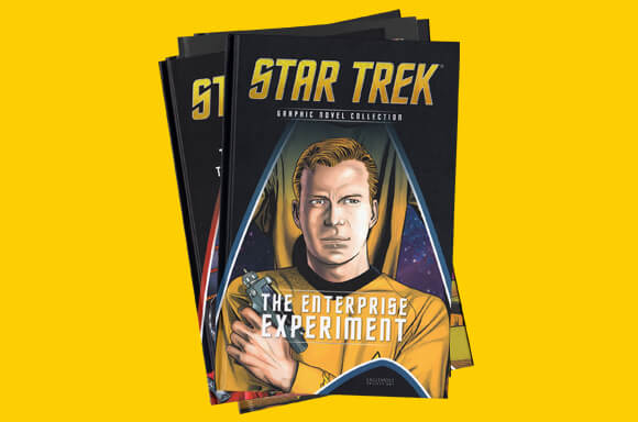 STAR TREK GRAPHIC NOVEL 10-PACK + 3 FREE GIFTS