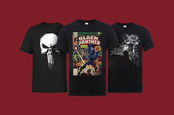 Marvel T-Shirts Flash Sale - all £8.99
