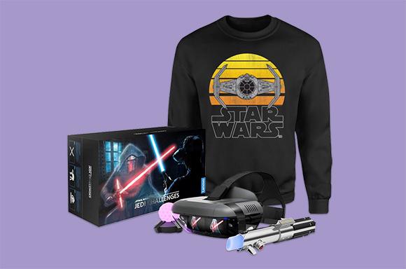 ONLY £39.99!<BR>STAR WARS AR & SWEATSHIRT