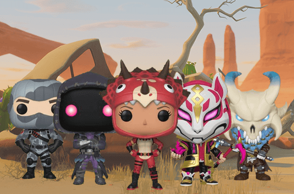 SAVE 40% OFF FORTNITE POP! VINYL FIGURES