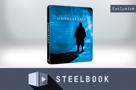 UNBREAKABLE STEELBOOK