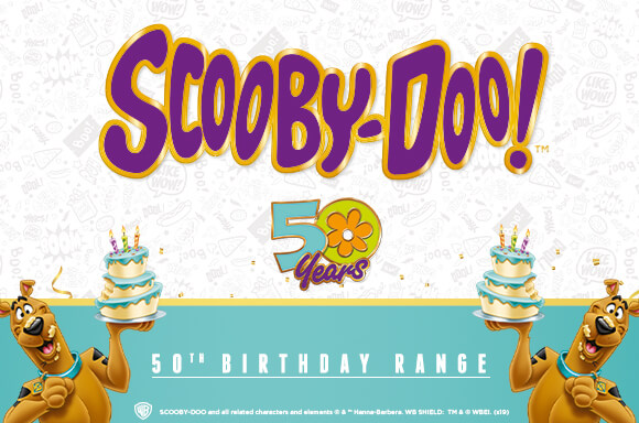 30% OFF SCOOBY-DOO CLOTHING