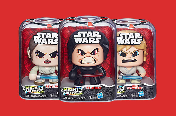 Star Wars Mighty Muggs for just £10!