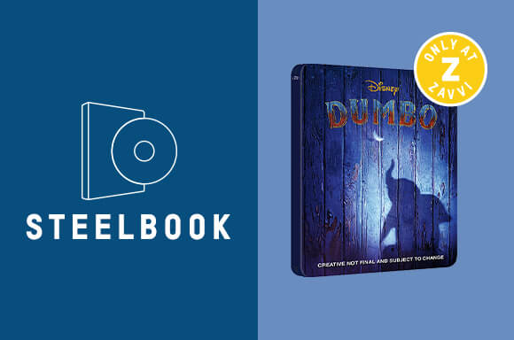 DUMBO 4K UHD STEELBOOK & T-SHIRT