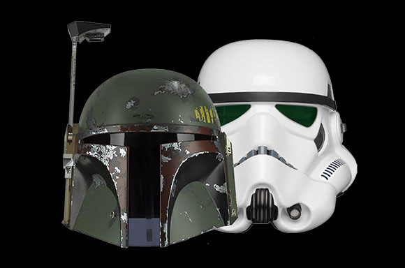 Star Wars EFX Helmets