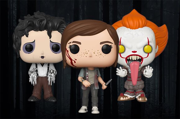 3 for £28 Horror Pop! Vinyl