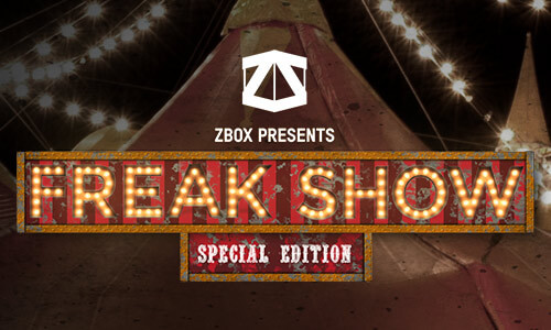 FREAK SHOW SPECIAL EDITION MYSTERY ZBOX