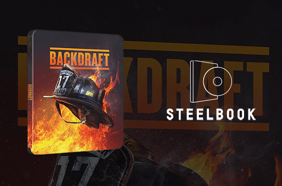 Backdraft 4K UHD Steelbook