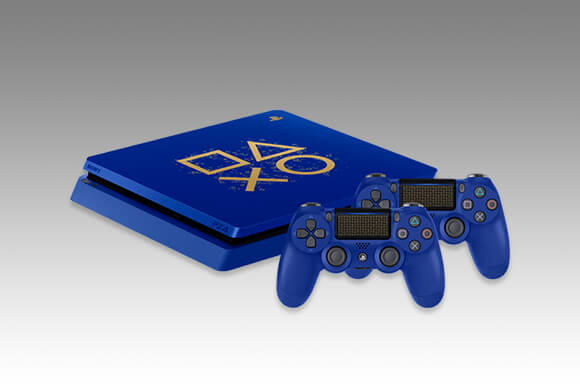 PLAYSTATION 4 DAYS OF PLAY LIMITED EDITION CONSOLE