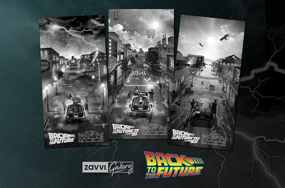 BACK TO THE FUTURE GICLEE ART PRINTS