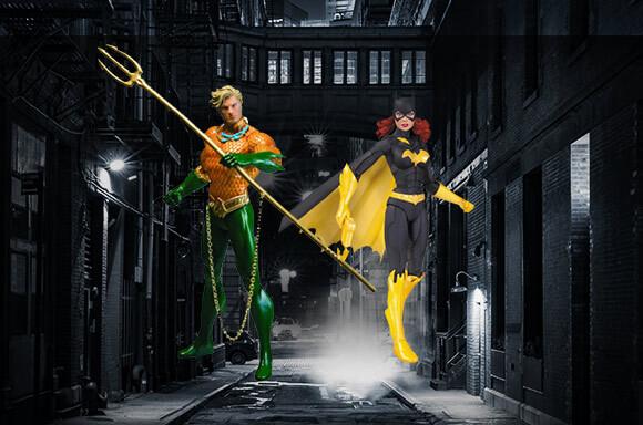 DC COMICS ACTION FIGURE BUNDLE