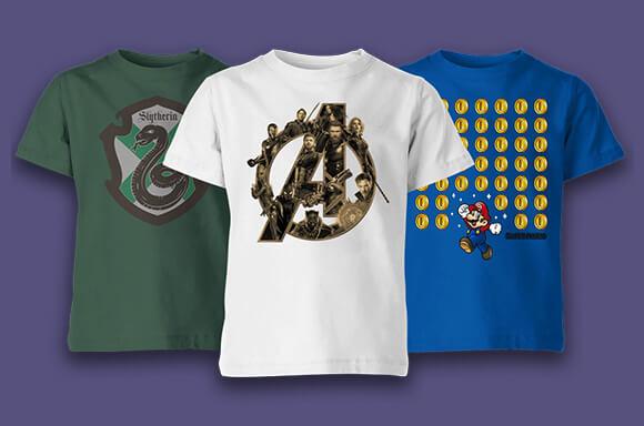 Kids BOGOF T-shirts