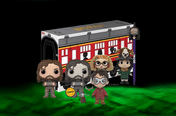 HARRY POTTER FUNKO BOX ONLY £14.99 WITH A FREE T-SHIRT