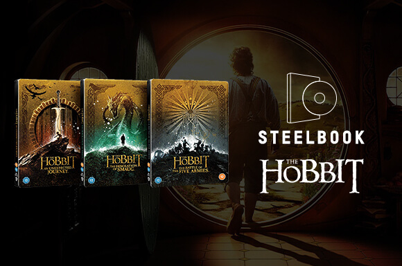 The Hobbit Trilogy: Steelbook Collection