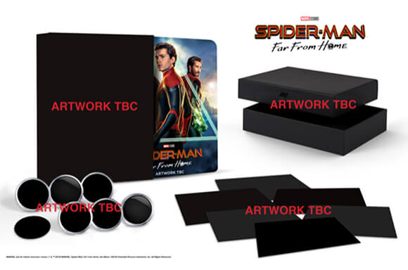 SPIDER-MAN: FAR FROM HOME<BR> 4K COLLECTOR'S EDITION STEELBOOK