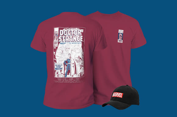 Marvel Tee And Cap only £14.99