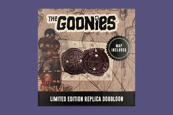 Zavvi Exclusive Goonies Doubloon Limited Edition Replica