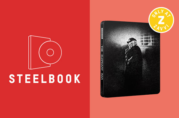 THE ELEPHANT MAN <BR> 40TH ANNIVERSARY 4K STEELBOOK