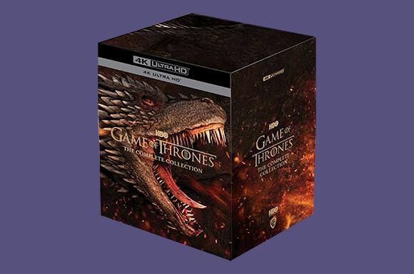 Pre Order  Game of Thrones S1-8 4k