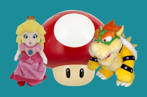 20% de descuento en peluches de Mario