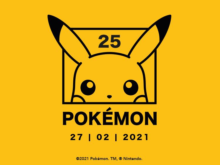 Pokemon 25th Anniversary  Main Banners