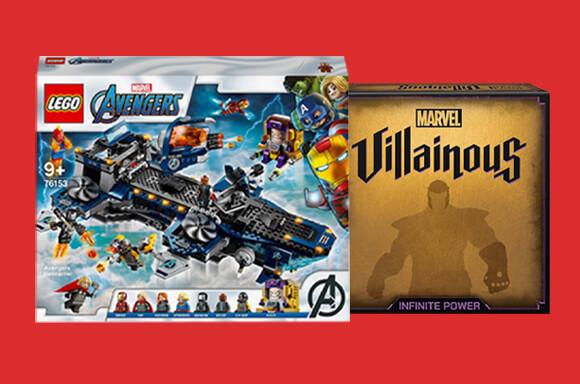 Juegos y Juguetes Marvel
