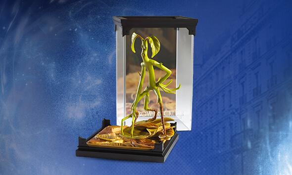 Fantastic Beasts bowtruckle sculpture