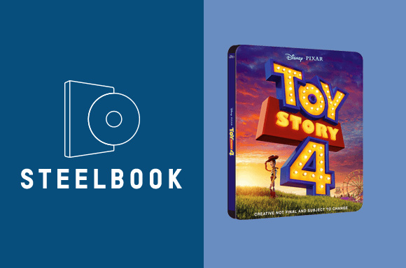 STEELBOOK ED. LIMITADA TOY STORY
