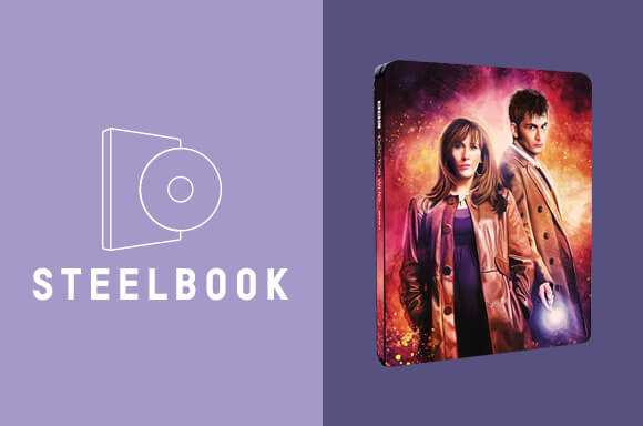 STEELBOOK DOCTOR WHO 4ª TEMPORADA (2008)