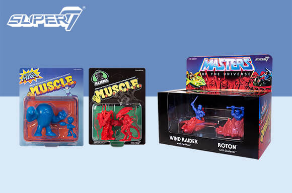 FIGURAS EXCLUSIVAS SUPER7 M.U.S.C.L.E. !