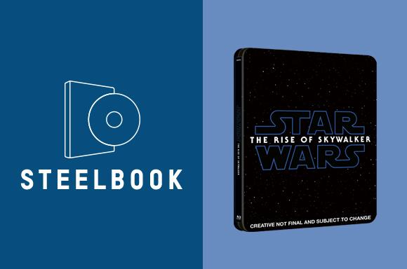 STEELBOOKS 3D & 4K<BR>STAR WARS: EL ASCENSO DE SKYWALKER