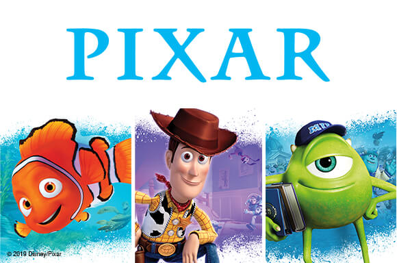 BLU-RAY & DVD DISNEY PIXAR