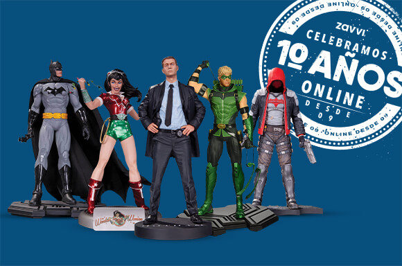 PACK 5 FIGURAS DC COLLECTIBLES