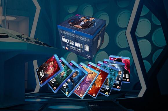 Réductions Blu-Ray Doctor Who Saisons 1 à 7